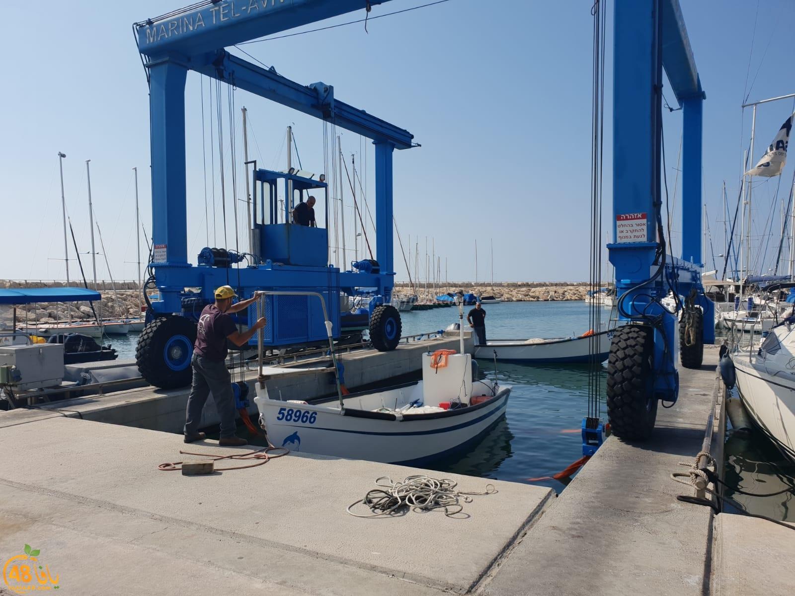 بالفيديو: توقيف 4 صيادين من يافا للتحقيق بحادثة مقتل غواص على شاطئ روبين بلماحيم