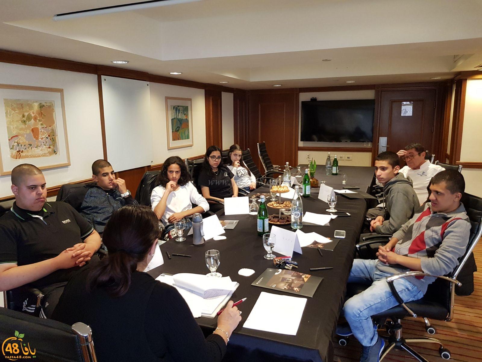 المدرسه التكنولوجيه العربيه يافا تعقد اتفاقاً مع فندق ديفيد إنتركونتيننتال تل أبيب