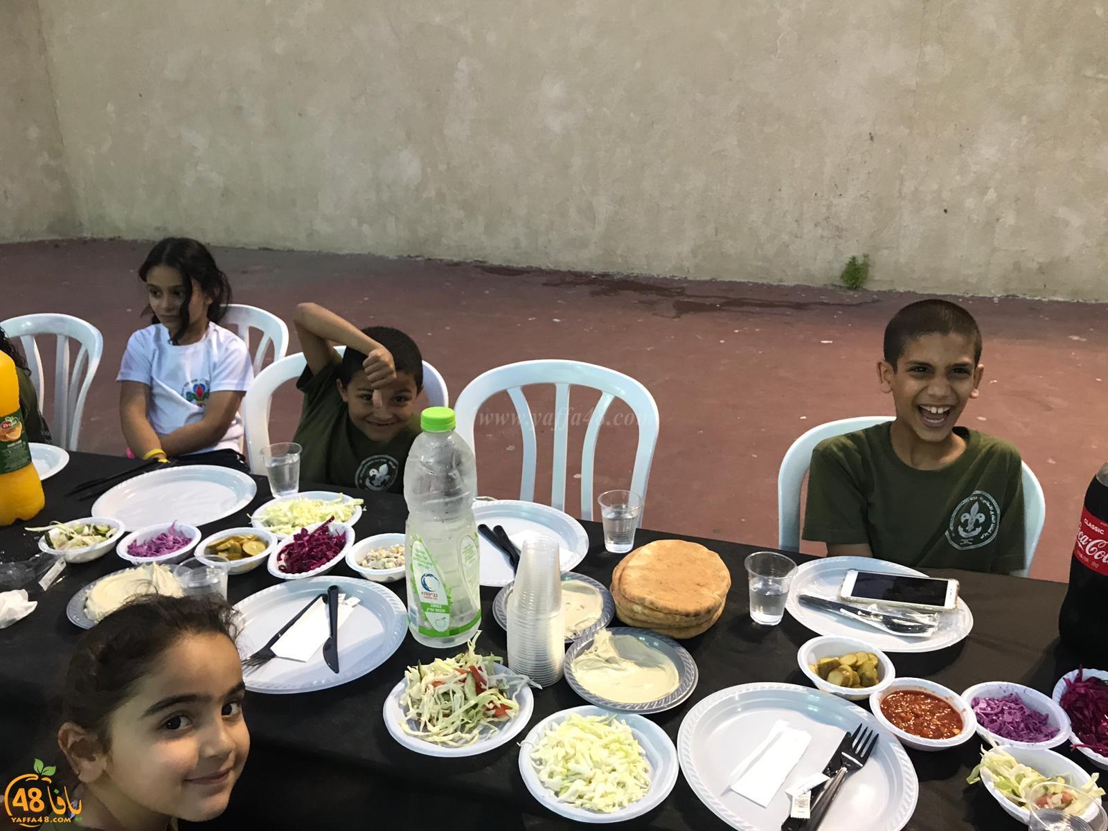 بالصور: سرية كشاف النادي الإسلامي تنظم إفطاراً جماعياً لأعضائها