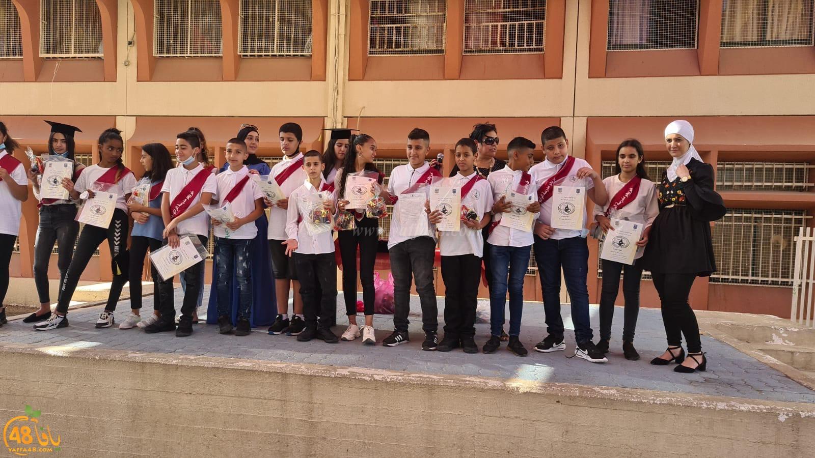 مدرسة الرازي الابتدائيّة في اللّد تحتفل بتخريج فوج من طلّابها