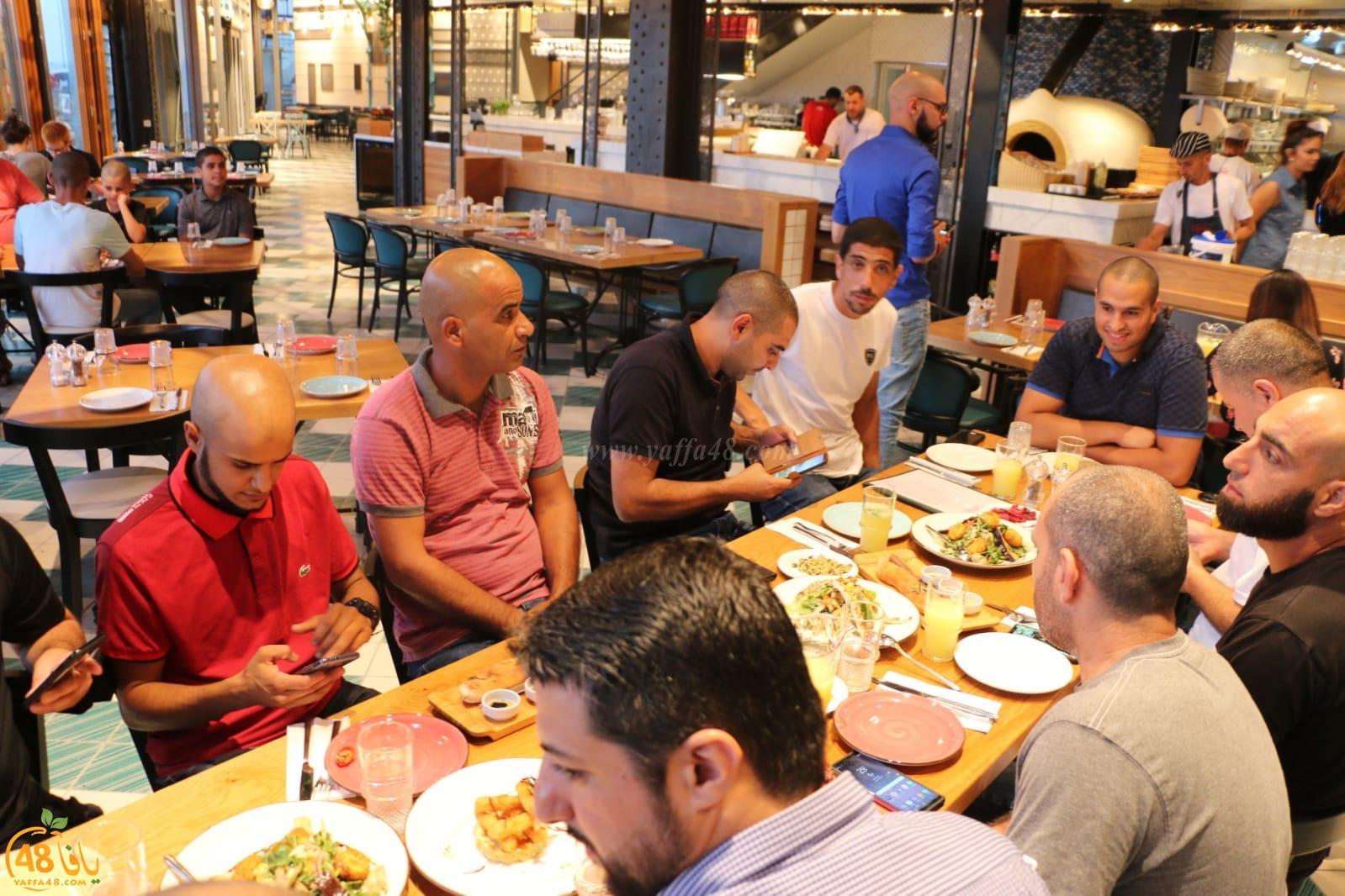 صور: طاقم يافا 48 يلتئم على مائدة افطار رمضانية في مطعم صقلية بالميناء