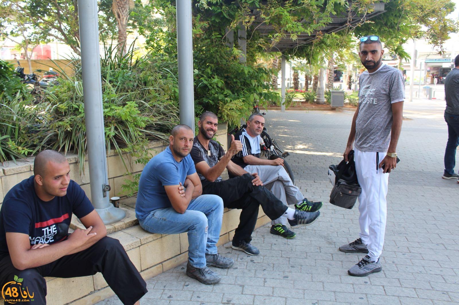 أهالي مدينة يافا يطالبون الشرطة بإطلاق سراح رئيس الهيئة الاسلامية فوراً