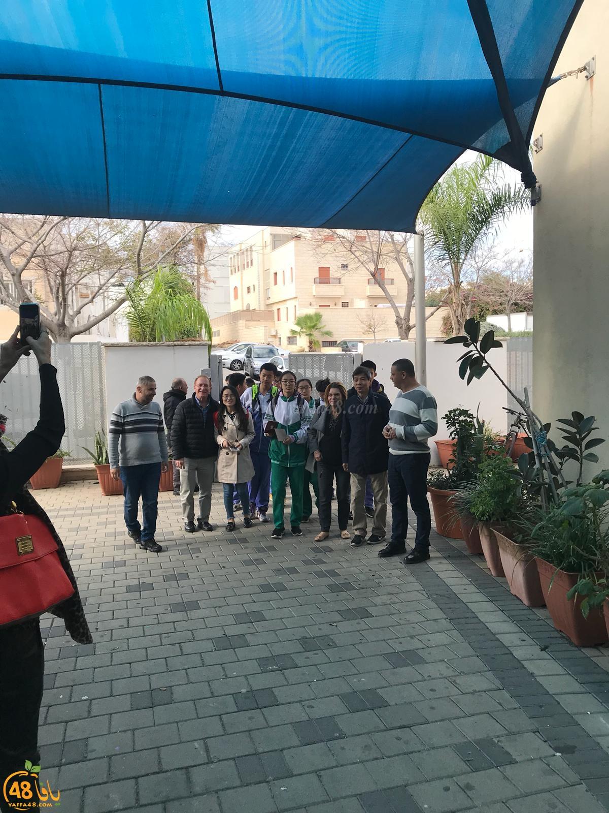 تبادل ثقافي مميز يجمع طلاب اجيال الثانوية وبعثة من طلاب الصين