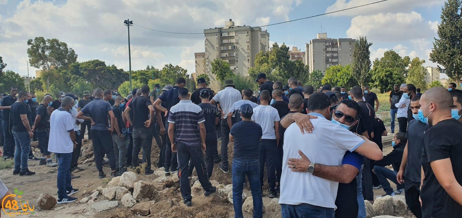 اللد: تشييع جثمان الحاج ابراهيم ابو غانم أبو عمر