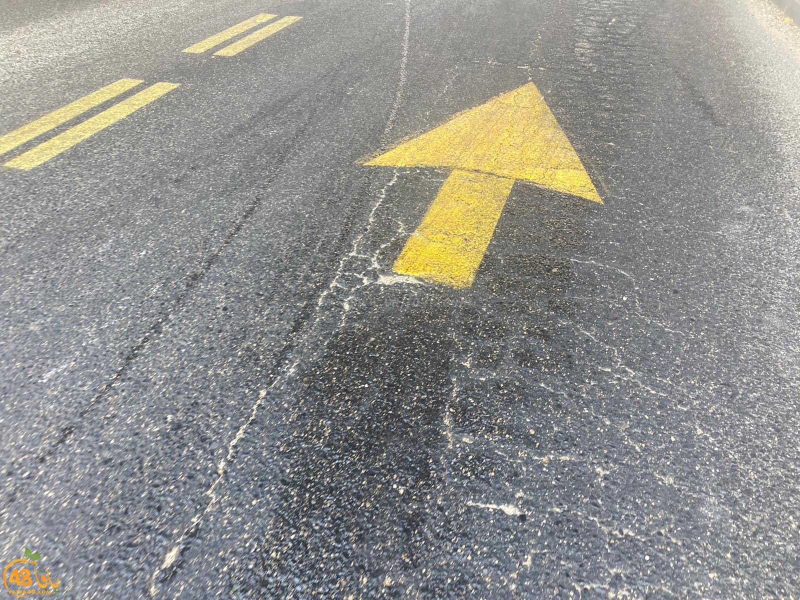 يافا: اصابة متوسطة لراكب دراجة نارية بحادث طرق ذاتي