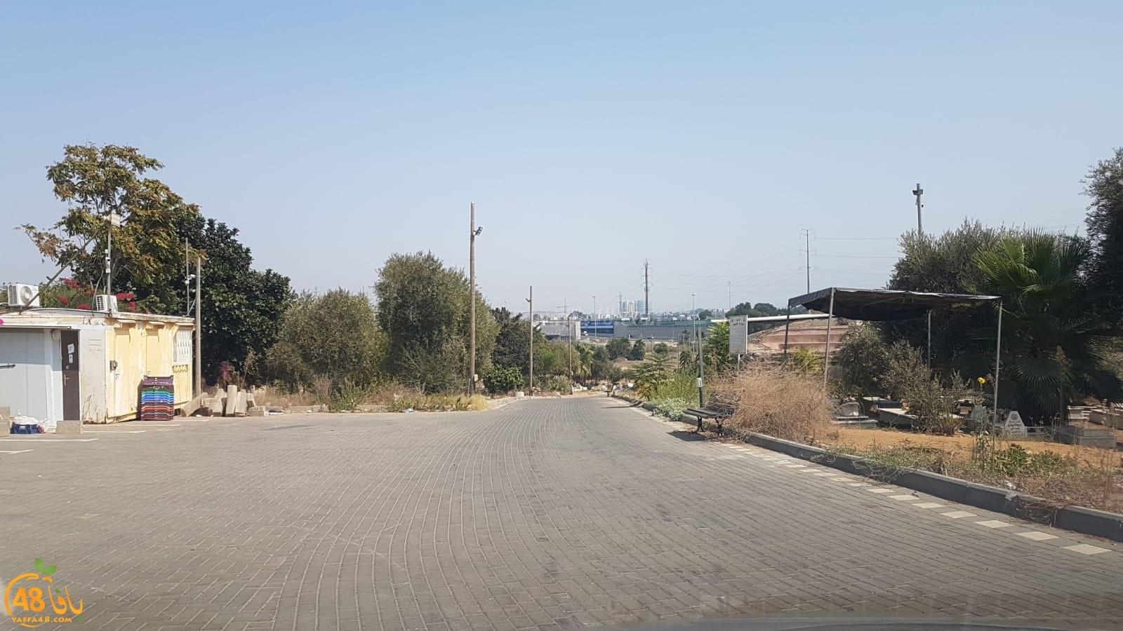 صور من شوارع يافا - الاغلاق الكامل يدخل حيّز التنفيذ لمدة ثلاثة أسابيع