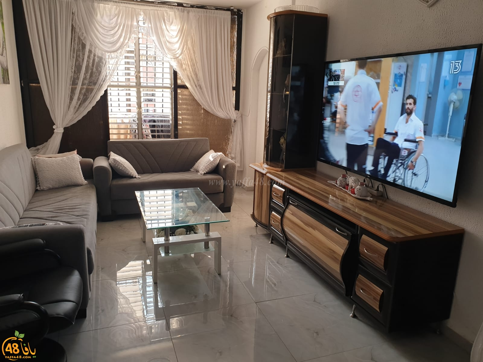 شقة بمساحة 60 متراً للبيع في يافا