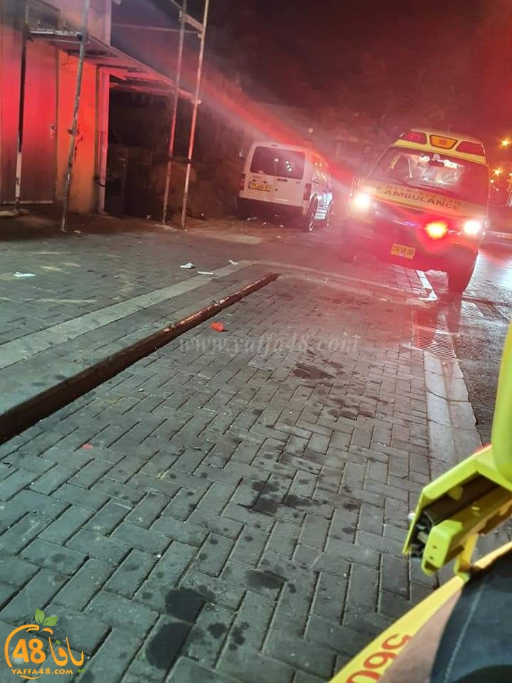 اصابة متوسطة بحادث دهس في مدينة يافا بعد منتصف الليلة
