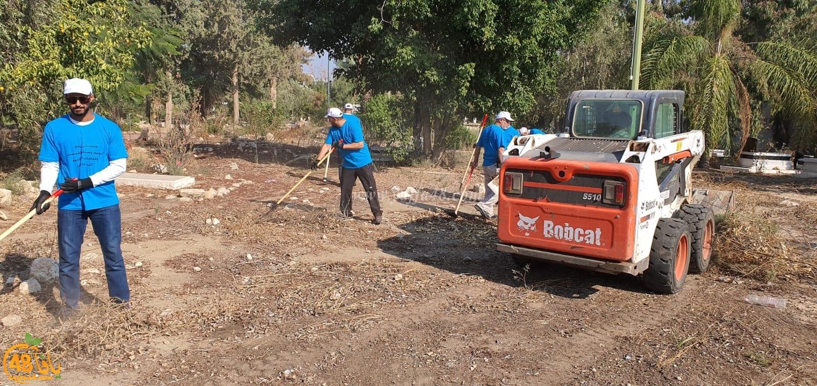 صور: انطلاق أضخم مشروع لترميم وصيانة المقدّسات في اللد الرباط