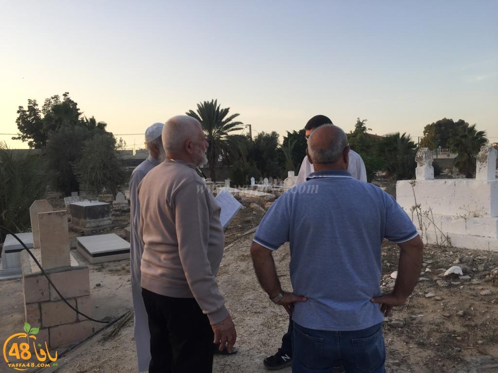 فيديو: جولة تفقّديّة لمقدّسات اللّد ضمن معسكر الرباط، ودعوات للمشاركة في صيانة المقبرة الجنوبيّة