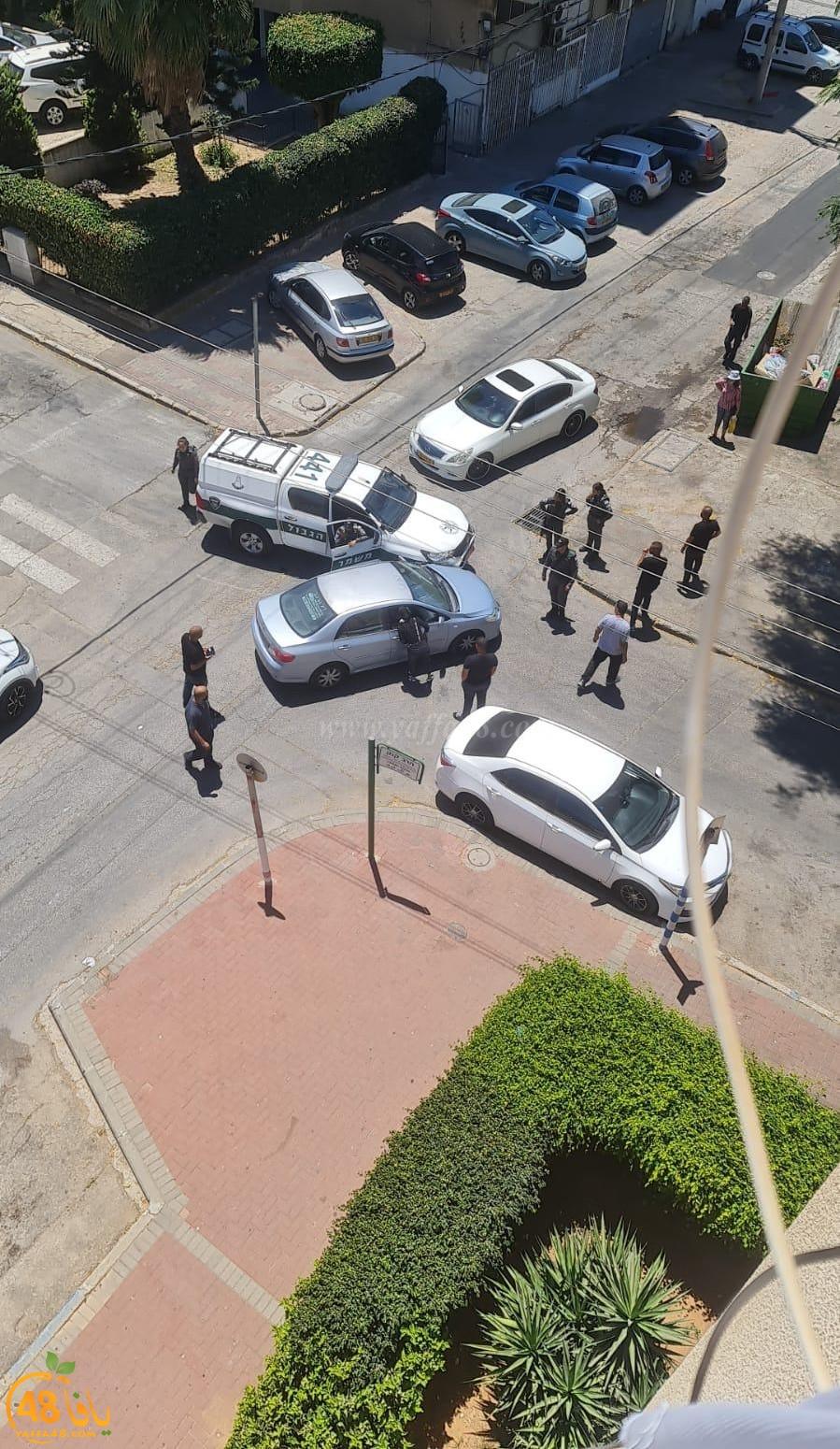 اللد: شرطي يتسبب بحادث طرق دون تسجيل اصابات