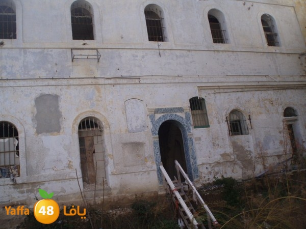 من أرشيف يافا 48 - صور لمقبرة القشلة بيافا قبل بناء الفندق