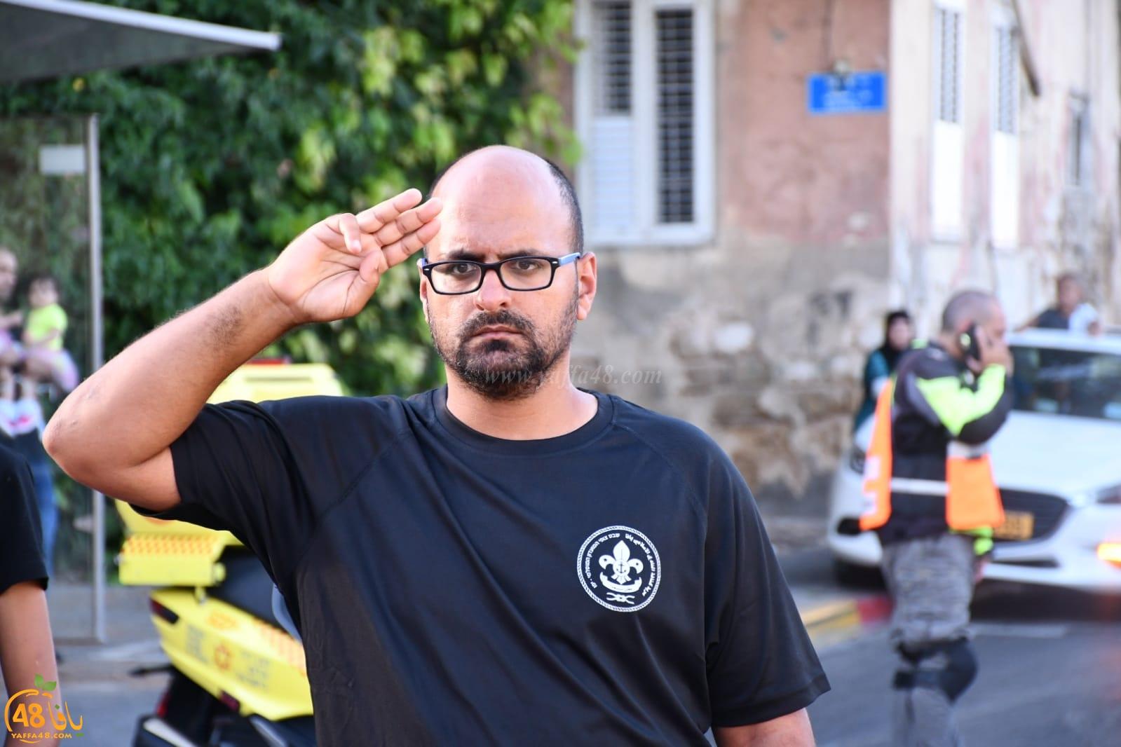 يافا: كشاف النادي الاسلامي يُنظم استعراضاً كشفياً بمناسبة العيد