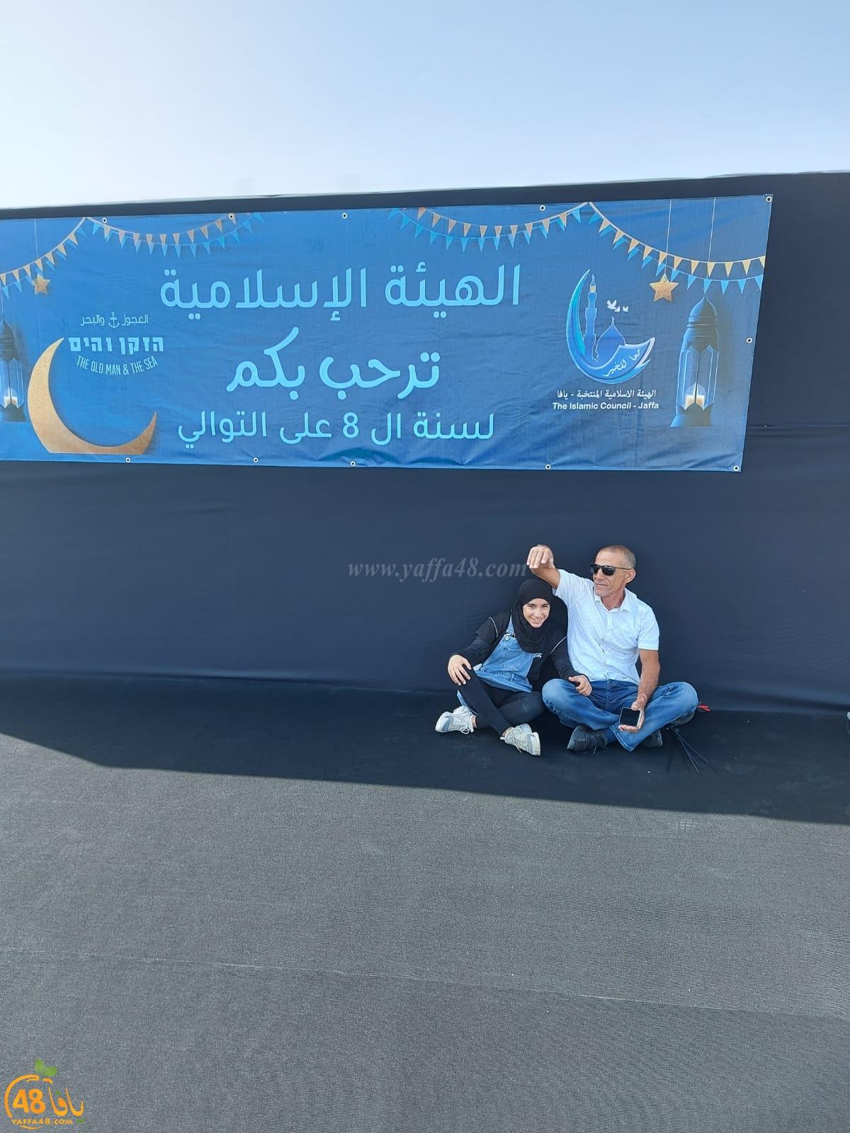 فيديو: وضع اللمسات الأخيرة استعداداً للإفطار الجماعي في ميناء يافا