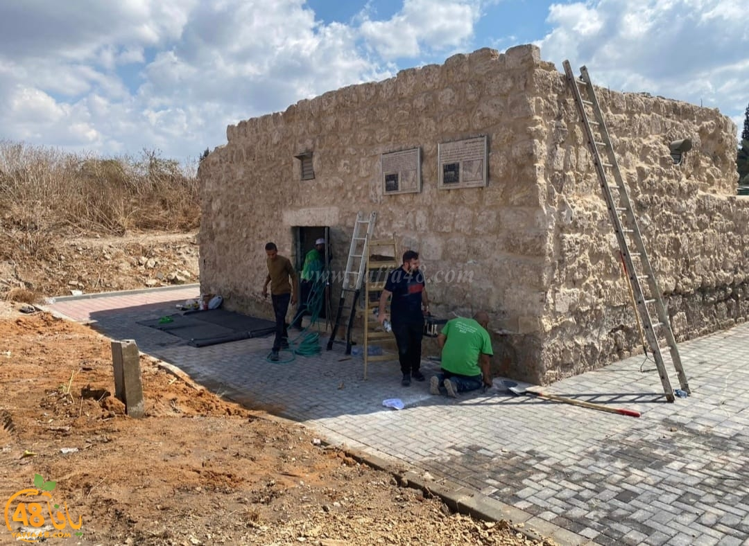 فيديو: استمرار العمل في معسكر الرباط الثاني لترميم وصيانة المقدسات باللد