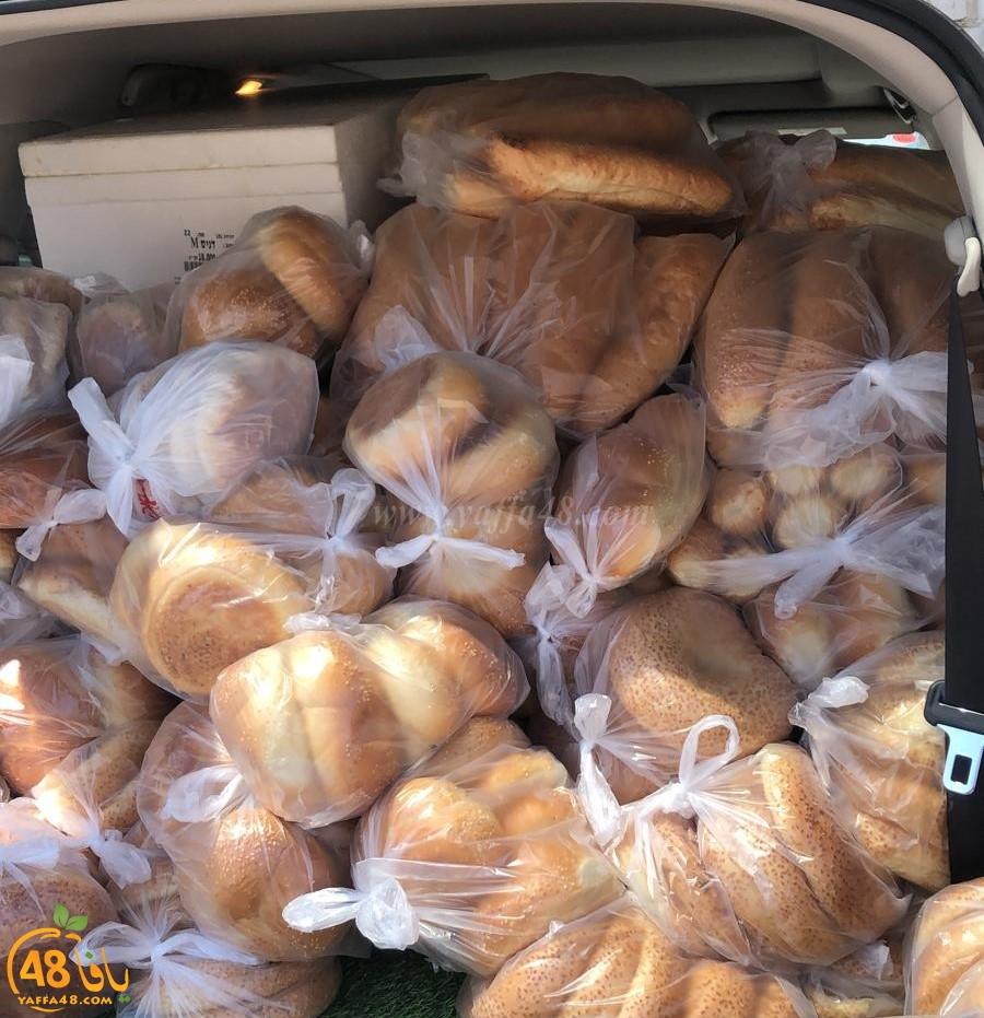 صور: طرود ومساعدات غذائيّة من مدن الداخل لأهالي اللّد
