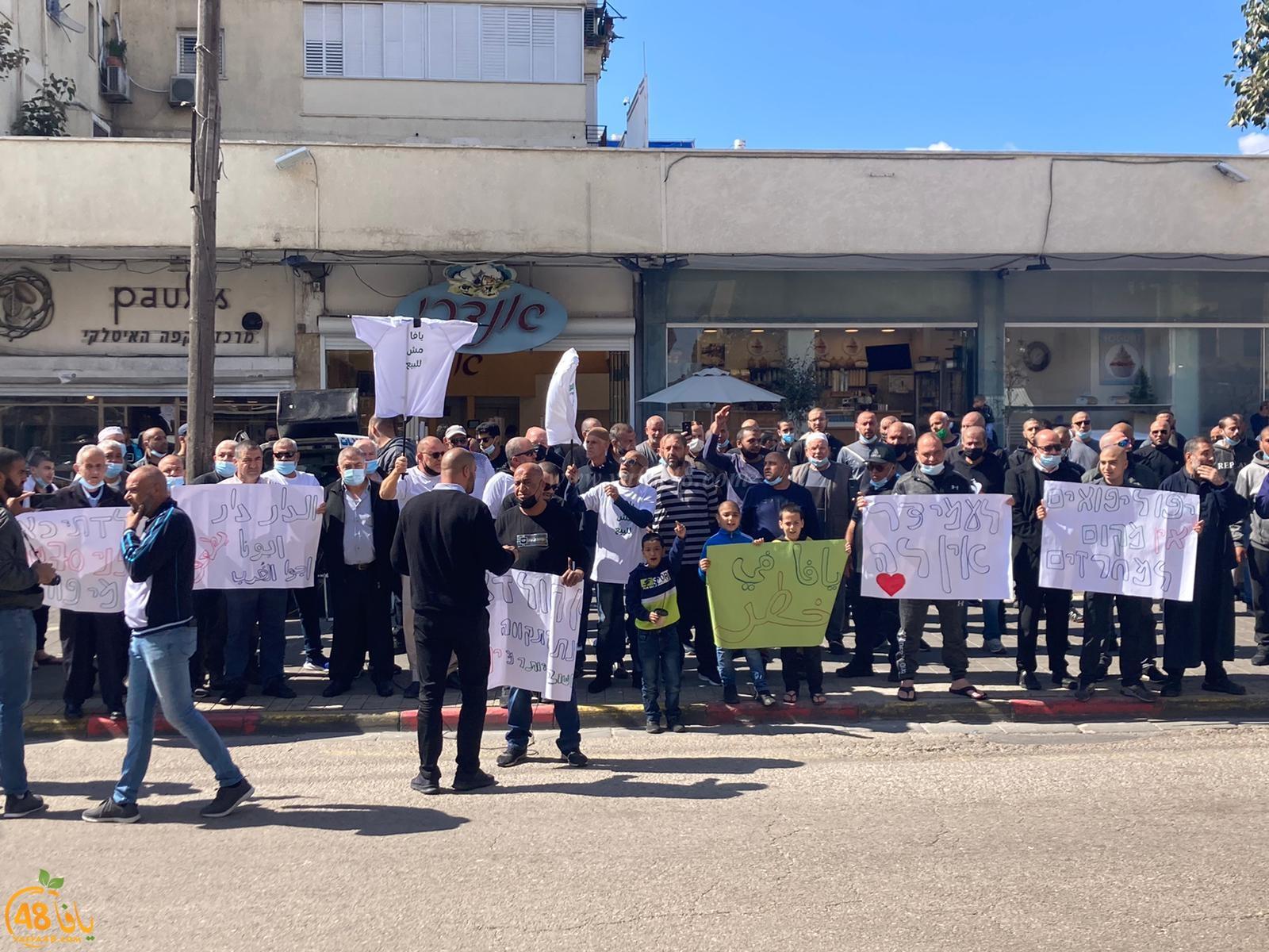 للأسبوع الثاني على التوالي - تظاهرة لأهالي يافا ضد بيع المدينة بالمزاد العلني