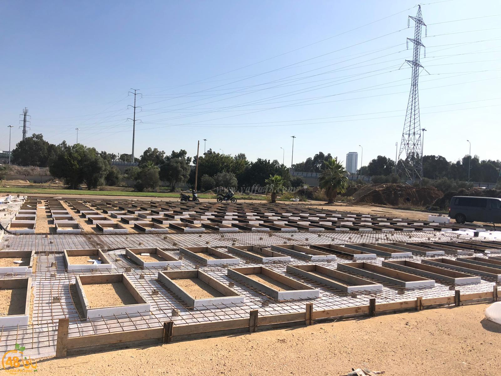 فيديو: مشاركة سخيّة من أهالي مدينة اللد في مشروع مسطحات مقبرة طاسو بيافا