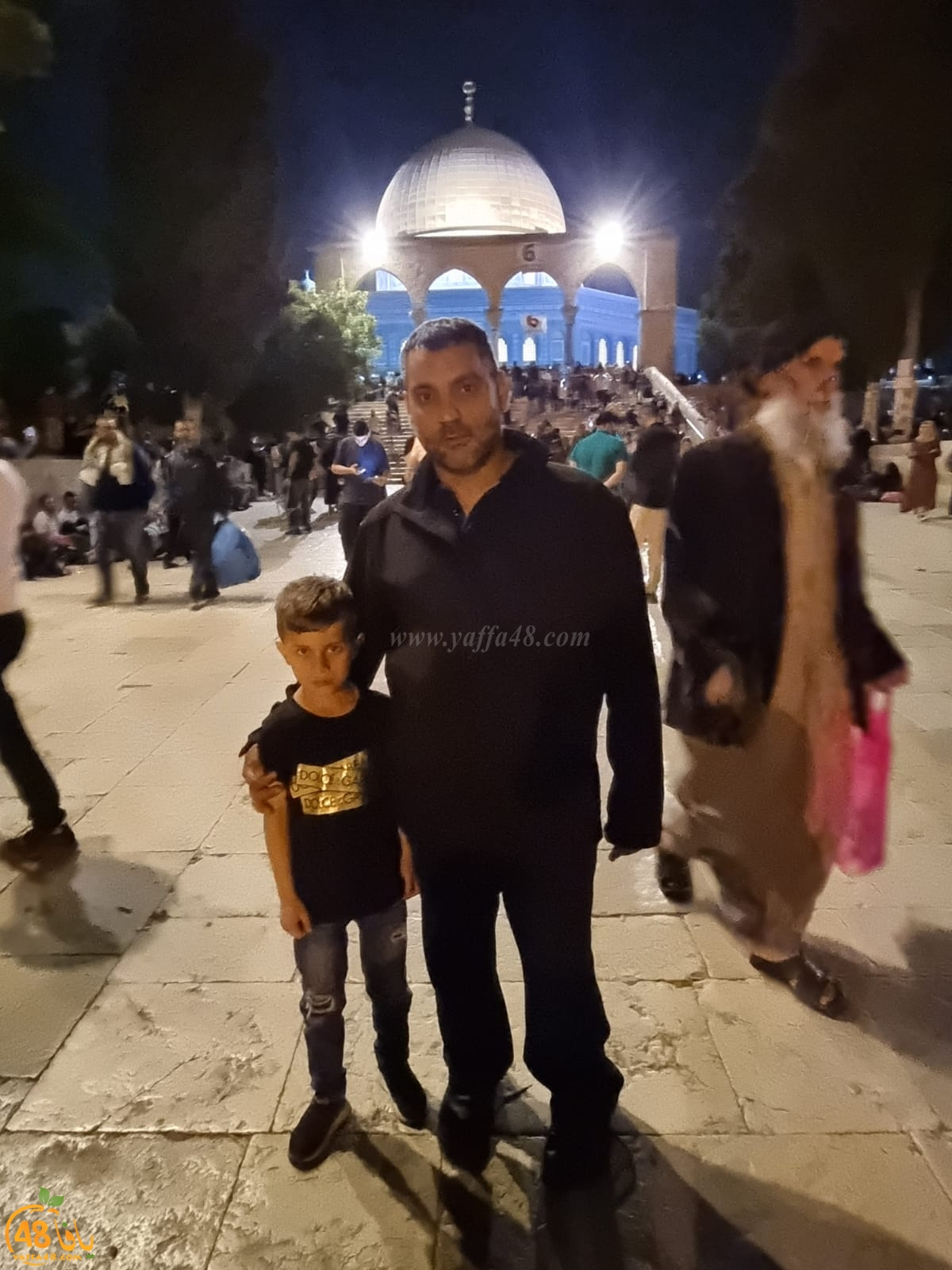 صور: أهالي مدينة اللد يشدّون الرحال إلى المسجد الأقصى المبارك