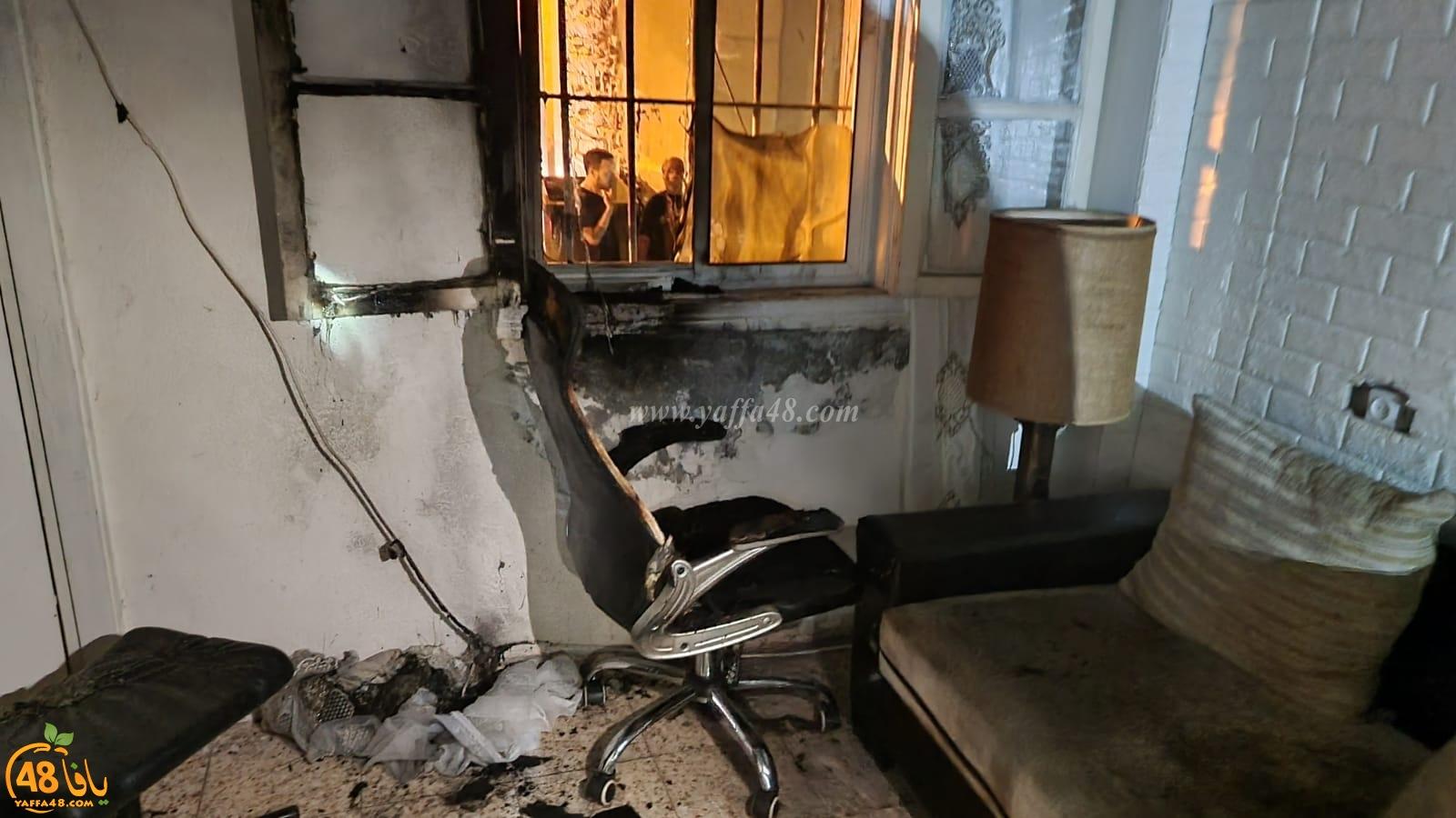 الشرطة: 3 مشتبهين عرب باحراق بيت عائلة جنتازي بيافا