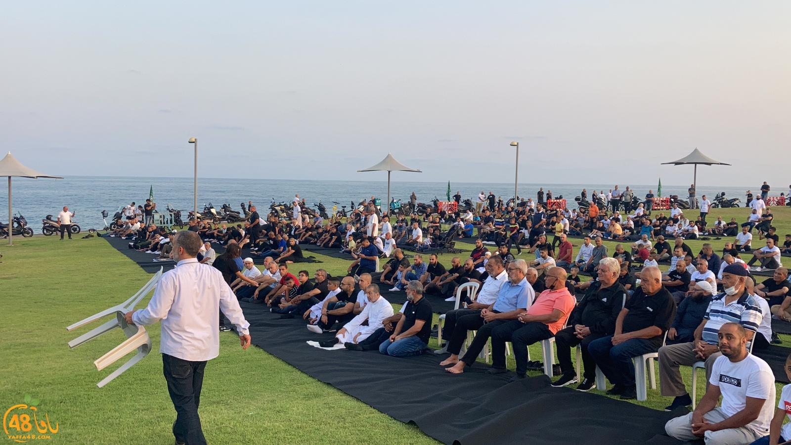 شاهد: خطبة صلاة عيد الأضحى في متنزه العجمي للشيخ عصام سطل