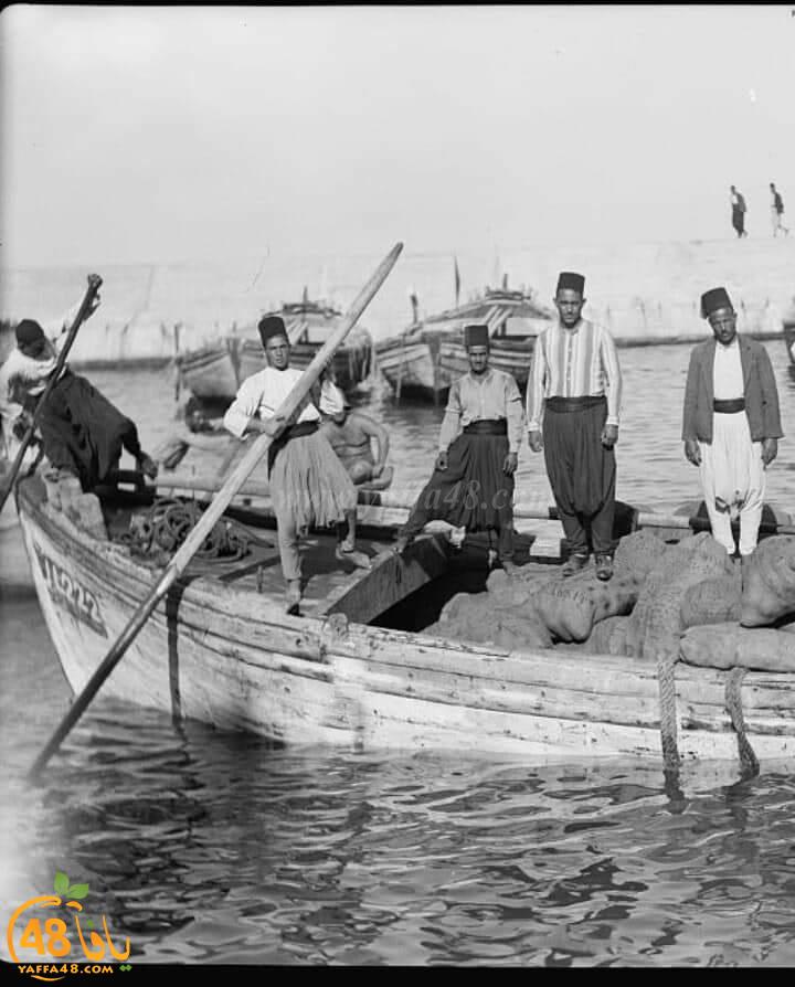 يعود تاريخها لعام 1944 - صور نادرة من داخل مرفأ ميناء يافا