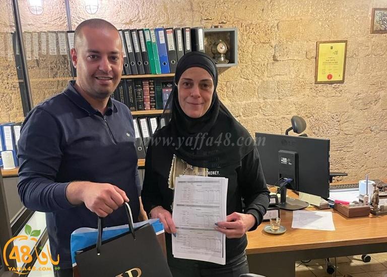 مكتب كبوب للمحاماة يُساعد سيدة يافاوية بالحفاظ على بيتها أمام العميدار