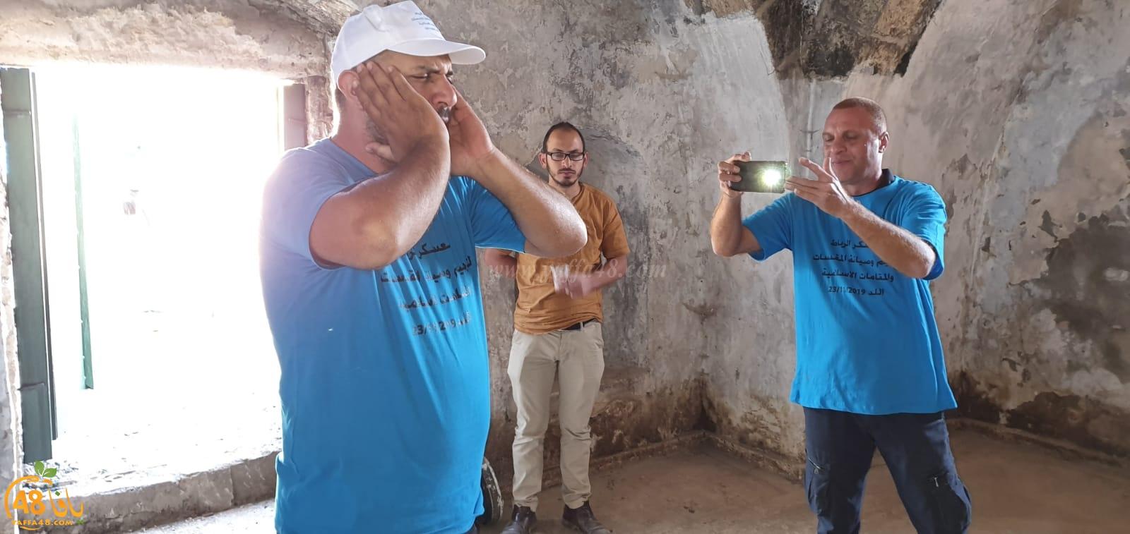 فيديو: اختتام فعاليات معسكر الرباط لصيانة المقدسات الاسلامية في مدينة اللد